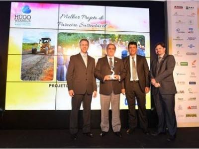 Usiminas é reconhecida em premiação ambiental