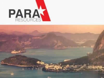 Para Resources Announces Correction to Close of First Tranche of Private Placement of Units