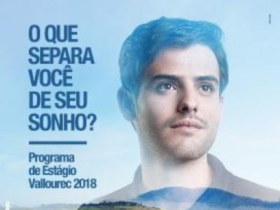 Vallourec: programa de estágio técnico e superior 2018