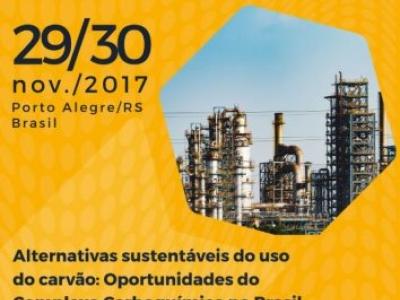 Evento Internacional debate oportunidades do complexo carboquímico no Brasil