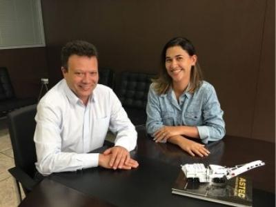 Astec do Brasil apresenta nova gerência de agregados e mineração