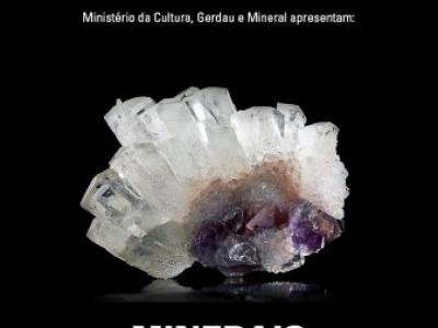 Exposição reúne pela primeira vez em Minas Gerais cerca de 400 espécies minerais brasileiras