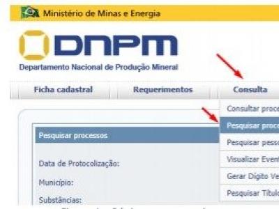 Fichas técnicas do Acordo DNPM/CPRM/SGM são disponibilizadas pelo DNPM/ANM