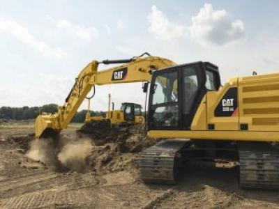 Três Escavadeiras Hidráulicas Cat® da Nova Geração Oferecem Mais Opções para Maior Eficiência e Cust
