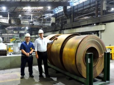 Termomecanica e CEFSA desenvolvem sistema inovador que aprimora seus processos de laminação