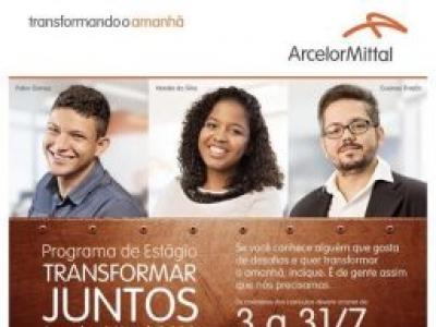 Programa de Estágio 2019 ArcelorMittal Brasil tem mais de 500 vagas