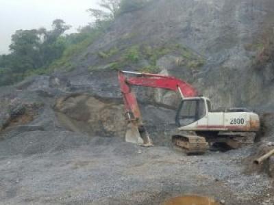Escavadeira Link-Belt soma 20 anos de história e mais de 35 mil horas de uso na Guatemala