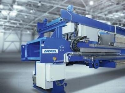 Novo filtro prensa para minério de ferro desenvolvido pela Andritz inicia operação com sucesso