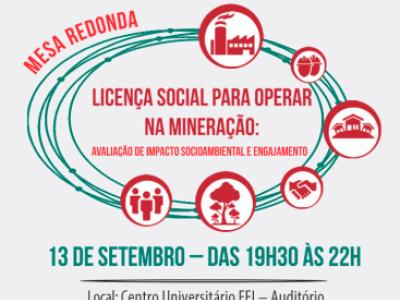 Evento discute importância da avaliação de impacto da Licença Social para Operar na mineração
