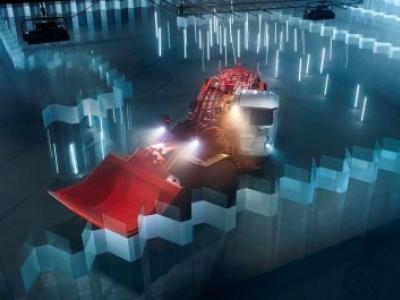 LHD automatizada da Sandvik prova sua precisão em um labirinto de vidro