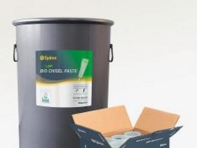Epiroc apresenta graxas biodegradáveis de alta performance para rompedores hidráulicos