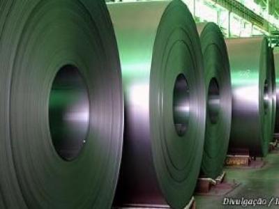 Produção brasileira de aço bruto tem alta de 2,3% em janeiro