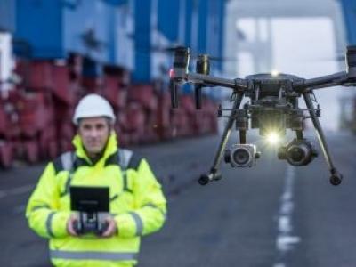 Drones mapeiam e inspecionam áreas de mineração para garantir segurança dos mineradores