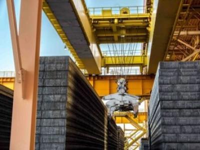 Companhia Siderúrgica do Pecém (CSP) tem mês de maior produção de placas de aço