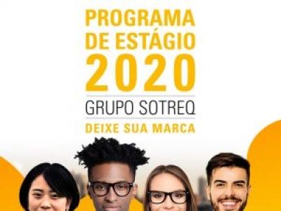 Grupo Sotreq abre vagas para Programa de Estágio 2020