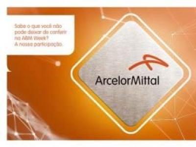 ArcelorMittal estará presente na ABM Week 2019
