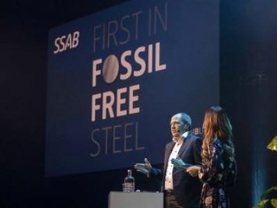 SSAB será primeira do mercado com aço produzido sem combustíveis fósseis