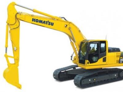 Komatsu lança modelo de escavadeira hidráulica da classe de 20 toneladas em Minas Gerais