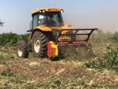 Triturador agroflorestal tem aumento de vida útil e fica mais leve com aço de alta resistência