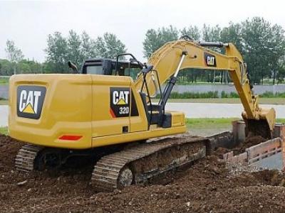 Conheça a série 320 da Cat, as escavadeiras do futuro