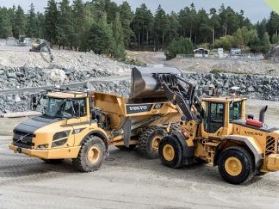Volvo CE exibe inovações futuristas para impulsionar a sustentabilidade