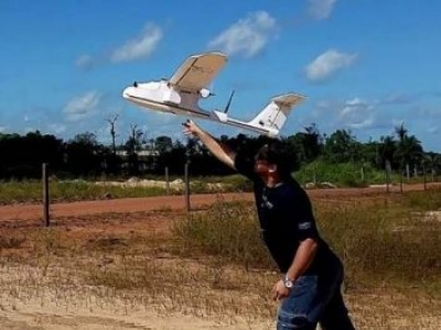 No Pará, Extensionismo Mineral utiliza VANT para mapeamentos na Região do Tapajós